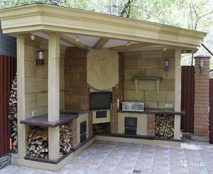 Самостоятельная постройка летней кухни