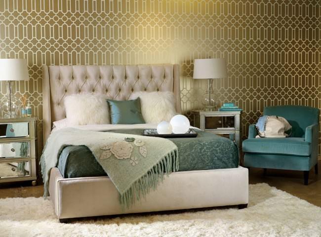 Цвета в интерьере спальни можно выбрать нейтрального типа, но никто не мешает использовать яркие акценты