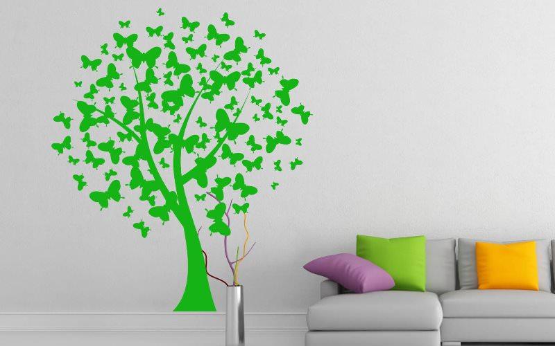 Материалы для изготовления бабочек на стену своими руками просты и не требуют больших вложений