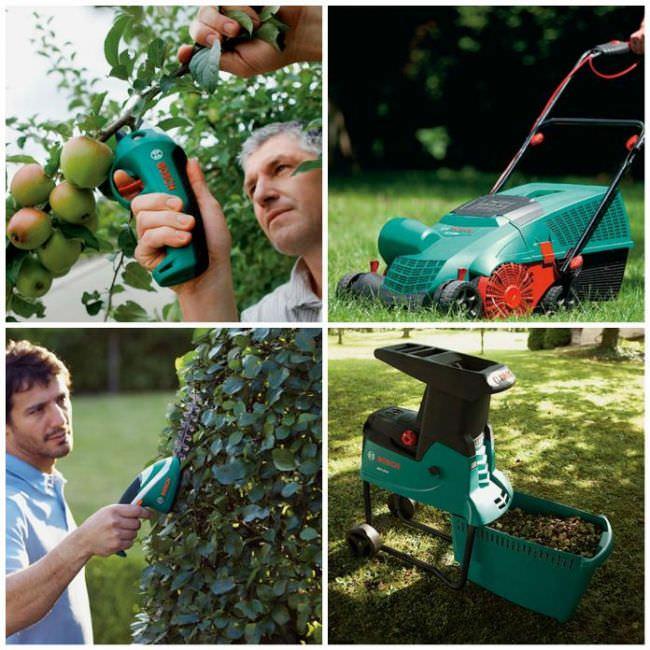 Не стоит забывать и о садовой технике