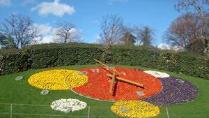 Почти шесть десятилетий назад в Женеве заработали пятиметровые цветочные часы с секундной стрелкой