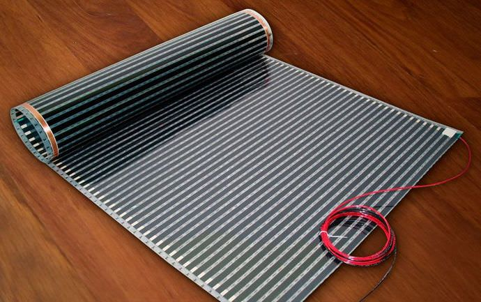 Пленочный обогреватель характеризуется повышенной экономичностью и отличными характеристиками теплоотдачи