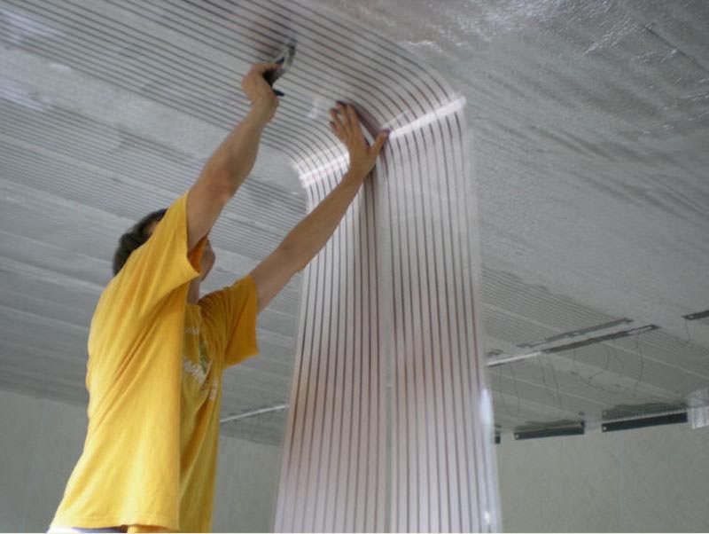 Ик-обогреватель потолочный – максимально эффективное оборудование, позволяющее получить равномерное распределение тепловой энергии в помещениях любой площади