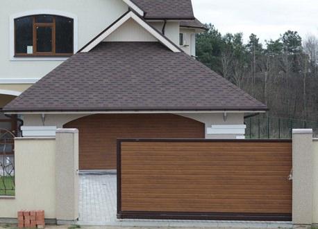 Сдвижные ворота – популярный и востребованный вариант