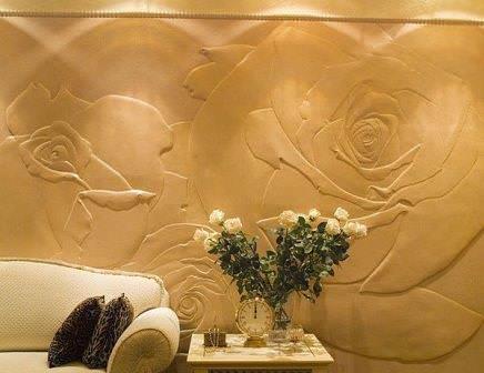 Декоративная штукатурка, своими руками наносимая, отличается простотой исполнения и отличным качеством