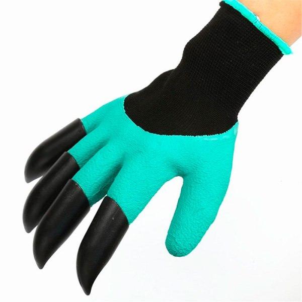 Яркой наружной особенностью садовых перчаток Garden genie выступают наконечники на пальцах - заостренные коготки