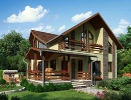 Каркасные дома являются оптимальным вариантом для круглогодичного проживания