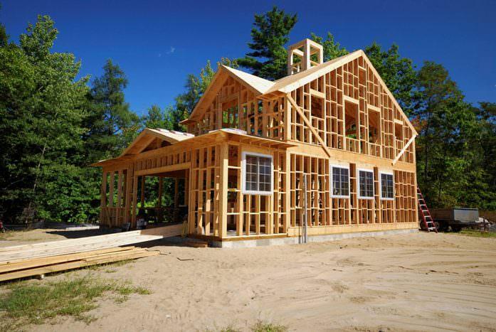 При возведении каркасного дома используются только самые качественные материалы и современные технологии