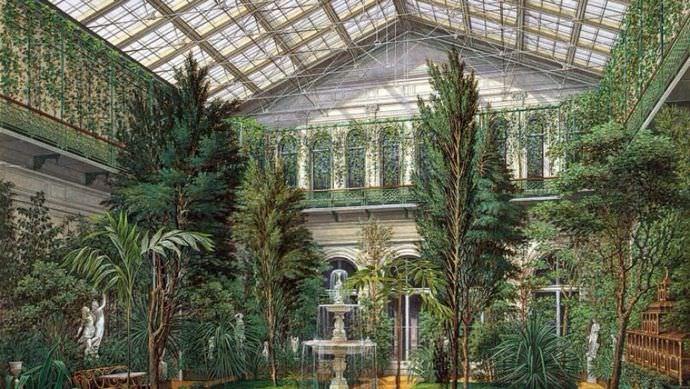 Желание насладиться прекрасным и живым растительным покровом побудило создать первые теплицы в Древнем Риме