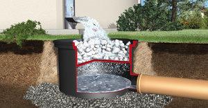Использование геоткани для дренажной системы