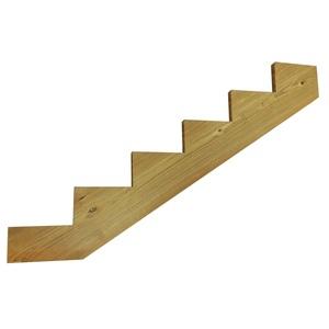 Изготовление гребенки для лестницы