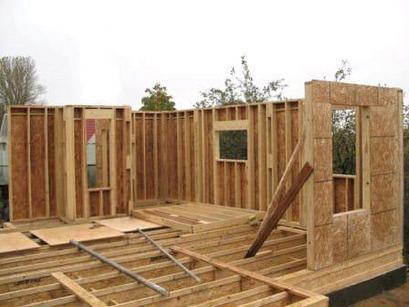 Каркасный дом на даче своими руками — это реально