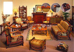 Дачная мебель из готанга