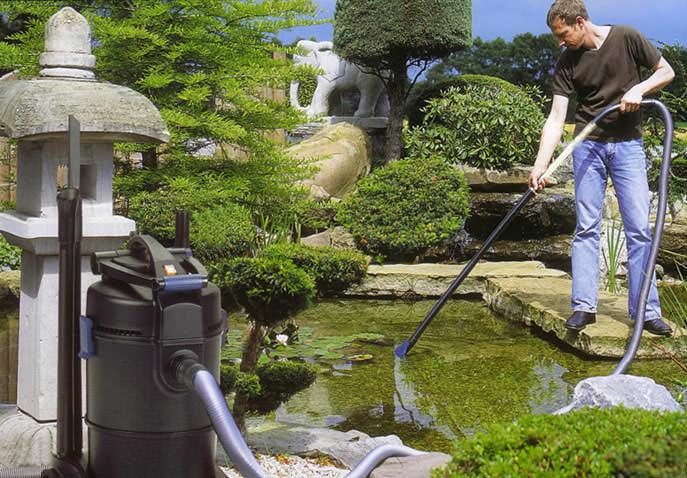 Каждая пора года оставила свой след не только в саду, но и в водоеме, который, кстати говоря, требует огромного внимания