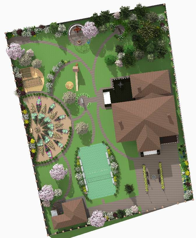 Идей для декоративного огорода может быть множество. Не стоит отказываться от свежей зелени к столу, нужно сделать огород красивым на радость всем членам семьи
