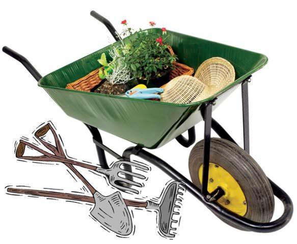 Если бюджет позволяет, можно остановиться на садовой технике. Если нет – выберите инвентарь