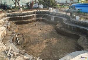 Постройка монолитного бассейна