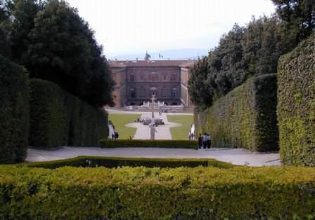 Дворец в саду