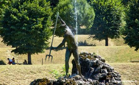 Скульптура в саду Боболи