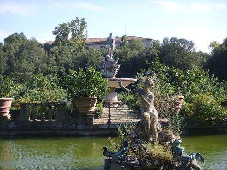 Авторы идеи создания садов Боболи