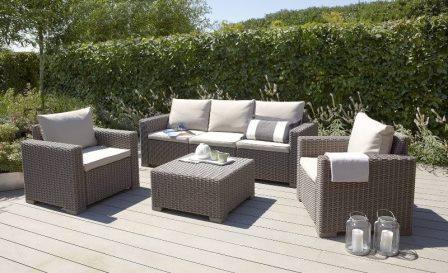 Садовая мебель нуждается в постоянном уходе