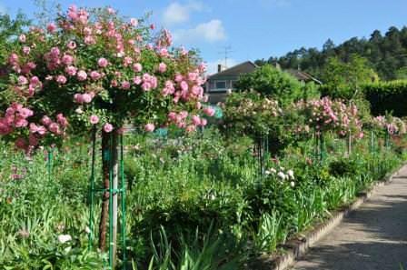 Сказочный сад Моне