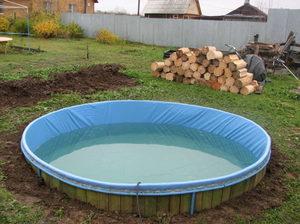 Самостоятельная постройка бассейна