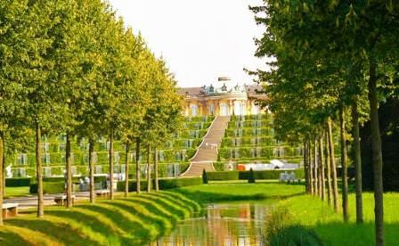 Архитектура парка