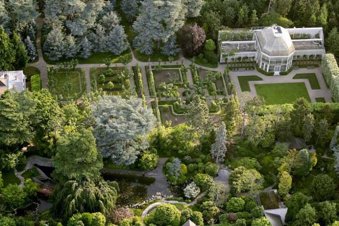 С французского сада начиналось создание всей садово-парковой композиции