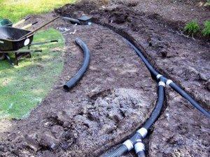 Система водоотделения своими руками