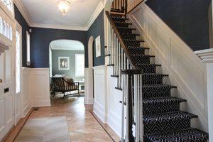 Сооружение одномаршевой лестницы