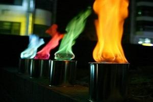 Способы окрашивания пламени биокаминов