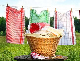 Где сушить белье на даче: выбираем практичную сушилку