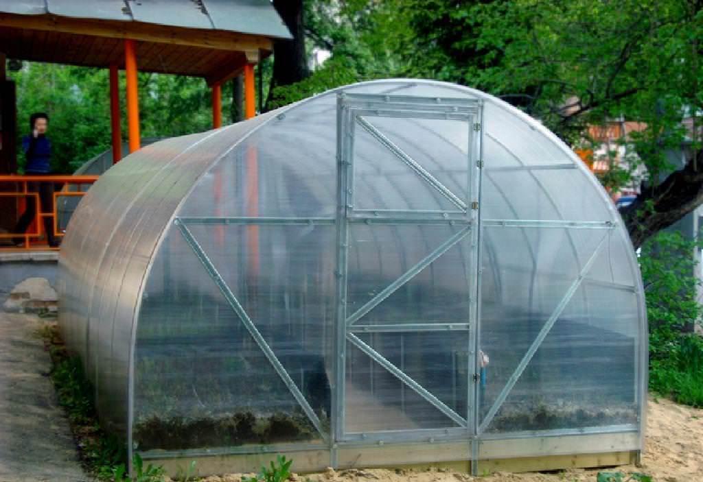 Сотка – теплицы из поликарбоната, которые имеют практичный размер и качественное оснащение