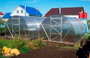 Серия теплиц «Урожай» отличается удобством в эксплуатации