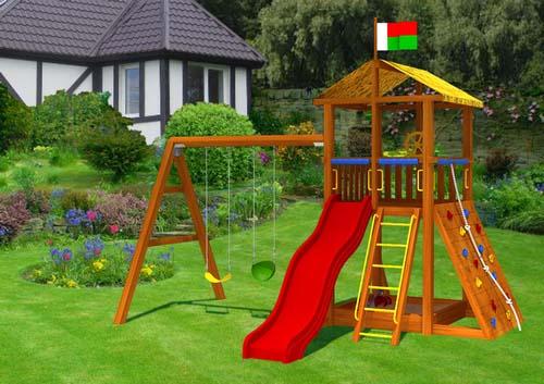 В каждой семье, в которой есть ребенок, актуален вопрос о наличии детской площадки на даче