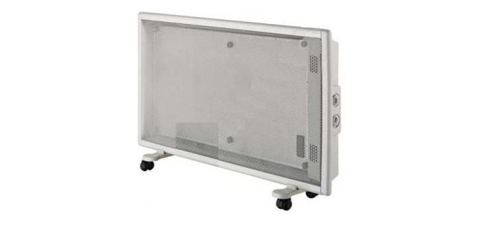Большое количество отзывов получает и микатермический обогреватель модели Калибр МИК-1500/2