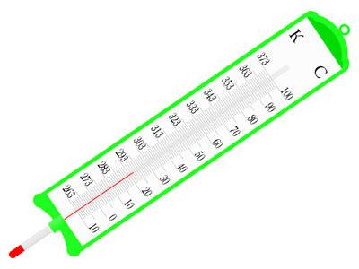 Простейший прибор контроля температуры в хранилище овощей и фруктов
