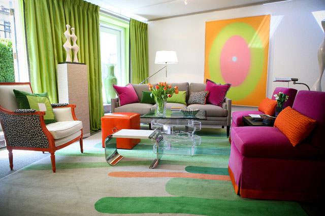 Цвета в интерьере квартиры меняют процесс функционирования отдельных внутренних органов и даже целых систем