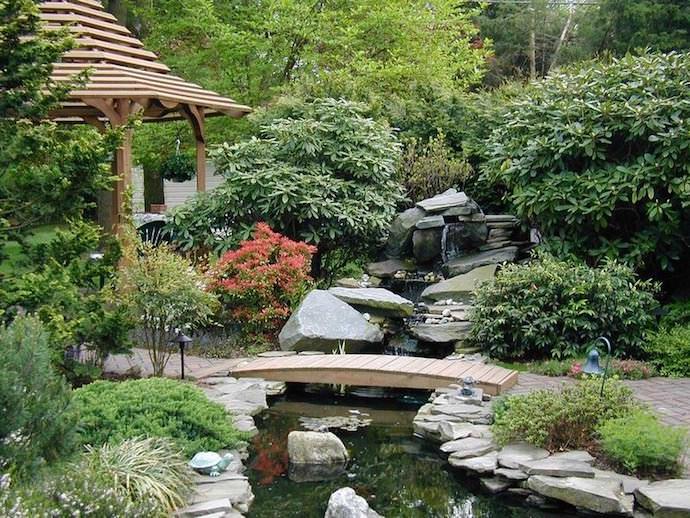 Японский сад – это воплощение умелого сочетания противоположностей