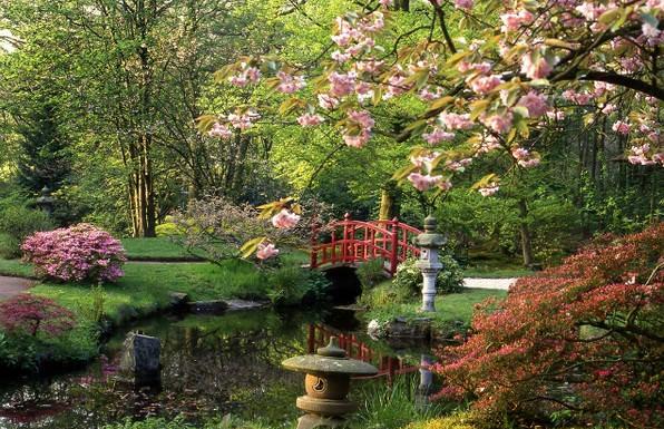 Еще одна характеристика японского сада – камерность, некоторая отстраненность и закрытость от внешнего мира
