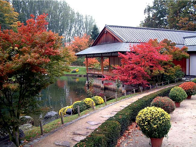 Для европейца японский сад предстает как что-то лаконичное, выполненное не для посторонних глаз