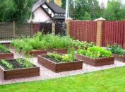 высокие грядки и огороды