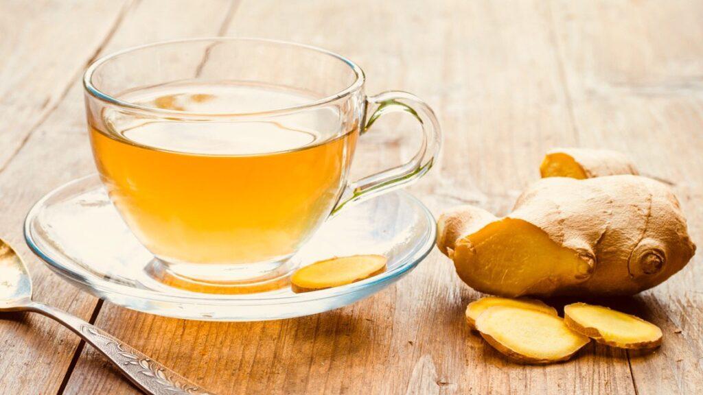 чай с имбирем польза