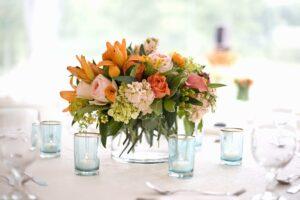 цветы украшение