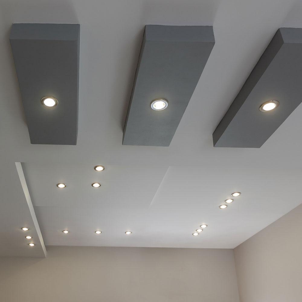 встраиваемы светодиодные светильники